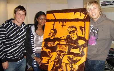 David Poole, Tafadzwa Mukwashi and Dominic Peters